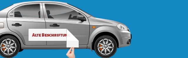 So Kannst Du Beschriftungen Vom Auto Entfernen Myfoliecom