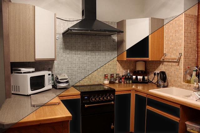 Möbelfolie Küche