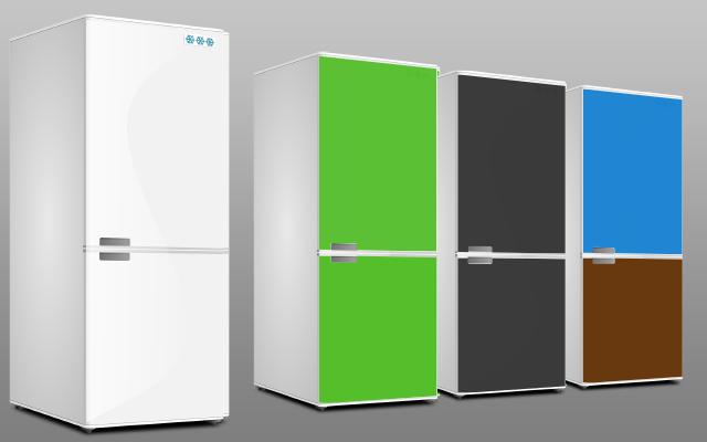 Möbelfolie für Kühlschrank