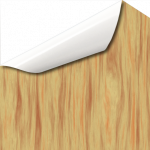 Klebefolie in Holz Kernbuche Stil