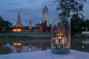 DIY Rock'n'Roll Windlicht