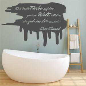 Wandtattoos Chanel Beste Farbe