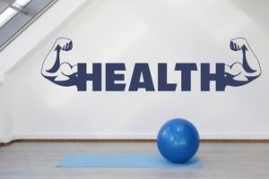 Wandtattoos Health
