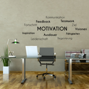 Wandtattoos Motivation