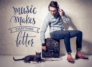 Wandtattoos Music