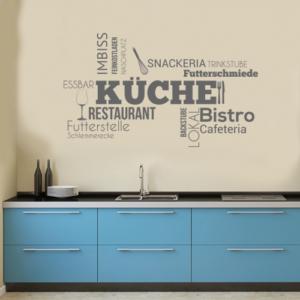 Wandtattoos Küche
