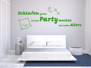 Wandtattoos Schlafen party