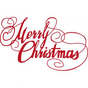 Weihnachtsaufkleber Merry Christmas 11