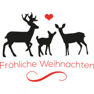 Weihnachtsaufkleber Fröhliche Weihnachten 7