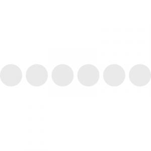 Klebefolie Milchglasfolie Türmarkierung Kreise Silber Nr. 1 (matt)