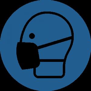 Aufkleber-Maske benutzen