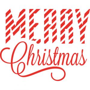 Weihnachtsaufkleber Merry Christmas 10