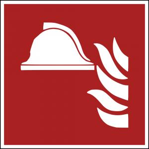 Aufkleber-Mittel und Geräte zur Brandbekämpfung