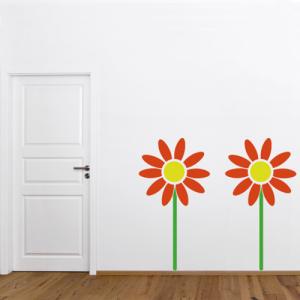 Flowerpower - Wandtattoo