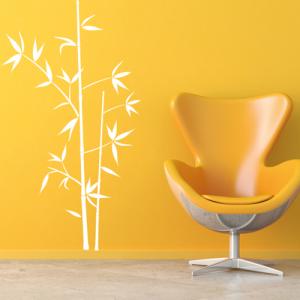 Bambusstrauch - Wandtattoo