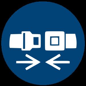 Aufkleber-Rückhaltesystem benutzen