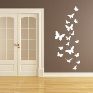 Schmetterlinge - Wandtattoo