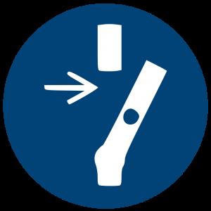 Aufkleber-Vor Wartung oder Reparatur freischalten