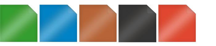 Einfarbige Möbelfolie mit glänzender Oberfläche